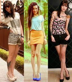 Moda fashion para mulheres baixinhas