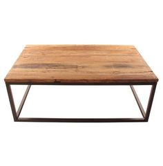 Solid Chunky Reclaimed Elm Wood Large Coffee Table - eclectic - coffee tables - Kathy Kuo Home Kid Friendly Coffee Table, Table, Eclectic Coffee Tables, Large Coffee Tables, Door Coffee Tables, Ottoman Coffee Table, Coffee Table, Beautiful Furniture, Pallet Coffee Table