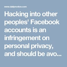 Hacking into other peoples' Facebook accounts is an infringement on personal privacy, and should be avoided, however, can help you learn how to protect your own Just call on Reset Facebook password 1-877-729-6626 Toll Free. If the user has Login Approvals enabled (Facebook's two-factor authentication system), the only way you'll be able to access their account is if you have their mobile device as well. For know more details visit: http://www.monktech.us/Facebook-password-recovery-reset.html