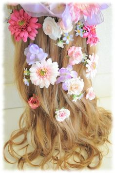 *オーダーメイド*♡花かんむりにプラスするお花ごとのヘアアクセサリー♡ |【Flower Accessories M.MODE shop blog】