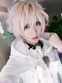 Image via We Heart It #cosplay #mika #owarinoseraph #anime #seraphoftheend