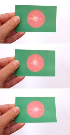 Startup turns animated gifs into moving lenticular prints gifs lenticular business card and compass logo for karlijn eickmans ke by aline verduin alinegeeftvorm colourmoves
