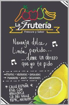 FRUTERIA Juice Bar Menu, Juice Bars, Salad Packaging, Juice Bar Design, Salad Box, Smoothie Shop, Juice Branding, Sandwich Bar, Green Bar
