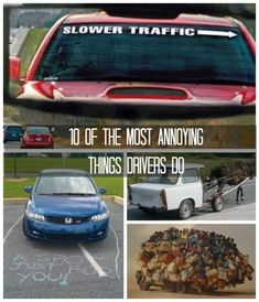 Haha, 10 of the Most Annoying Things Drivers Do. Do you agree? Click to see more.