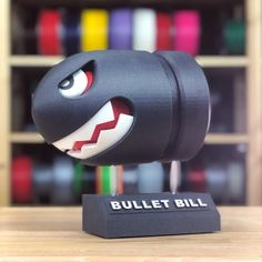 Bullet Bill Model was made by Martin Moore