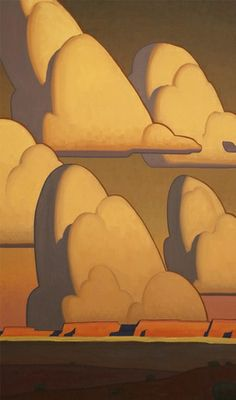 Mesa Clouds, Logan Maxwell Hagege.