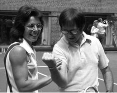 Tennis champion Billie Jean King recalls the 1973 Battle of the Sexes against Bobby Riggs, knowing she felt like she had to beat him to attain gender equality: