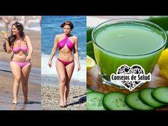 Esta mujer bajo de 74kg a 54kg con ayuda de esta receta casera - YouTube