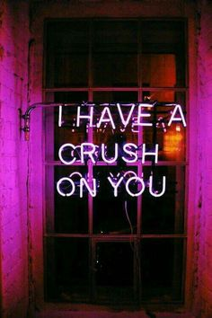 I have a crush on you