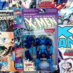 NIB The Uncanny X-Men: Apocalypse #2 Action Figure, Marvel Comics, 1993 Toy Biz, Antique Alchemy