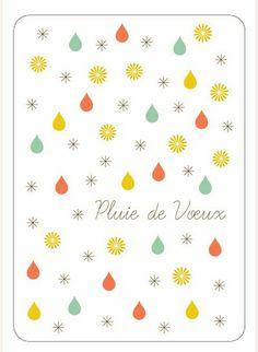Pluie de vœux Cute Pattern, Pattern Design, Messages, Nouvel An, Some Words, Positive Attitude, Pattern Wallpaper, Illustrations, Paper Cutting
