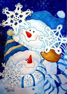 SNOWFLAKE BUDDIES II BY JAMIE CARTER