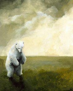 Sans-abri - Art ours polaire