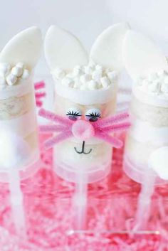 Easter Cupcake Push Pops