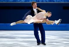 Tanja Kolbe and Stefano Caruso of Germany compete in the Figure Skating Ice Dance Free Dance on Day 10 of the Sochi 2014 Winter Olympics