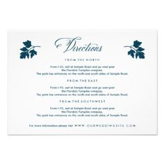 Silhouettes of herbs design is perfect for a garden theme or outdoor wedding. White and midnight blue. Midnight Blue Herb Garden Wedding Invitation by beckynimoy Browse more Garden wedding suite Invitations #garden #wedding #suite #herb #garden #wedding #suite #herb #garden #wedding #directions #card #garden #wedding #directions #card #outdoor #wedding #directions #card #herb #wedding #directions #card #white #blue #wedding #directions #card #blue #wedding #directions #card #white #wedding…
