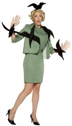 Amazon.com: When Birds Attack Costume: Clothing - I would totally wear this!