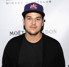 Rob Kardashian had a funny reaction when he saw Caitlyn Jenner's picture for the first time.