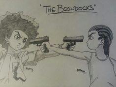 Riley- Cuz you's a b*tch ★The Boondocks ★ The Boondocks Cartoon, Boondocks Comic, Boondocks Drawings, Pencil Art Drawings, Cool Art Drawings, Cartoon Drawings, Dope Cartoons, Dope Cartoon Art, Character Art
