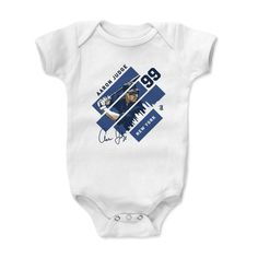 Aaron Judge Stripes B New York Y MLBPA Officially Licensed Onesie 3M-24 Months