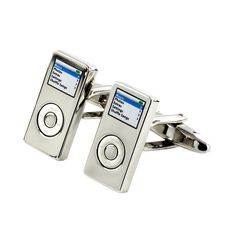 Novelty MP3 Cufflinks on TiesNCuffs.com.au