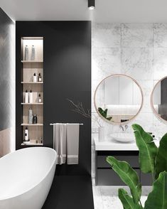 Contemporary bathrooms look clean cut and fresh, always with stylish details too, to pull the finishing look together. Modern contemporary bathrooms can. Bathroom Wallpaper, Bathroom Doors, Bathroom Interior, Bathroom Sinks, Bathroom Ideas, Remodel Bathroom, Bathroom Lighting, Interior Livingroom, Interior Paint