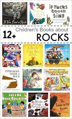Over 12 Children's Books about Rocks and Geology (both fiction and nonfiction for grades preschool through Great addition to the teaching of the Next Generation Science Standards (NGSS) ~ Preschool Science, Science Books, Science For Kids, Earth Science, Science Activities, Science Experiments, Science Classroom, Teaching Science, Science Fun