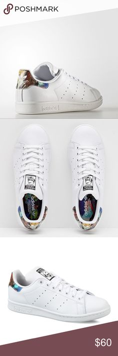 WOMEN'S ADIDAS ORIGINALS STAN SMITH SHOES Designed in collaboration with  Brazilian label The FARM Company,