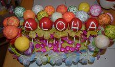 hawaiian cake pops - Google Search