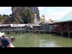 """Khao Lak - Thailand: Diashow """"Koh Panyi"""" Floating Village, Phang Nga Bu... Thailand, Phuket, Parks, Hotels, Khao Lak, Strand, Mosque, National Forest, Tours"""