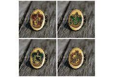 Wish | Harry Potter Houses - Vintage Style Rings