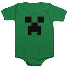 Minecraft creeper onesie