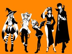 Free Download HD Anime Witches 1024x768 - Download FREE Widescreen HD Anime Witches