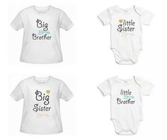 Koszulki dla rodzeństwa  www.jakamama.pl