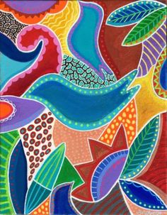 "Saatchi Art Artist Angela Sharkey; Painting, ""Seeds Of Wisdom"" #art"