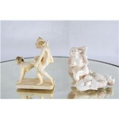 Carved erotic ivory