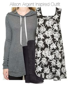 """""""Teen Wf - Allison Argent Inspired Outfit with requested too"""" by staystronng ❤ liked on Polyvore"""