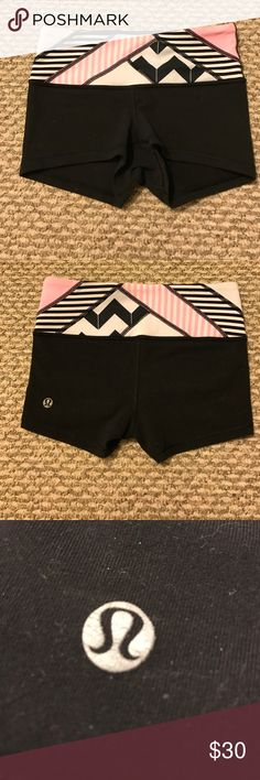 Size 2 lululemon shorts EUC !!!Adorable size 2 lululemon shorts. Only selling cause they don't fit me. Really good condition. Feel free to ask any questions. lululemon athletica Shorts
