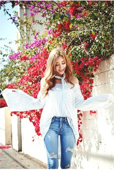2016 Hottest Summer Trend: Off-shoulder shirts  Korean Fashion Online Shopping Website | Korean Clothing