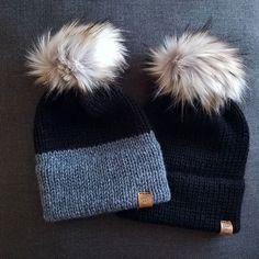 Baby Hats Knitting, Loom Knitting, Knitted Hats, Crochet Hats, Circular Knitting Machine, Knitting Machine Patterns, Winter Knit Hats, Winter Hats For Women, Crochet Beanie Pattern
