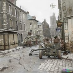 Canadian troops Normandy