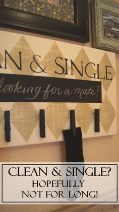 I will definitely be making this! It is way to cute to not have in our laundry room!