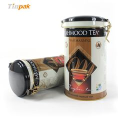 This medium round tea tin box with plastic airtight lid can be printed your desired design and embossed your own logo to upscale your image of your products so as to make them stand out from the competition and enhance your brand