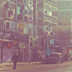 Road to Luxor by atelier olschinsky , via Behance