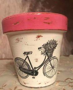 Flower Pot Art, Flower Pot Design, Painted Plant Pots, Painted Flower Pots, Succulent Display, Succulent Pots, Decorated Flower Pots, Pottery Painting Designs, Clay Pot Crafts