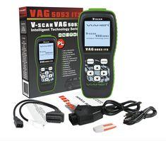VAG5053 ITS V-SCAN tester skaner diagnostyczny VW AUDI SKODA SEAT | Urządzenia diagnostyczne \ Grupa VAG VW AUDI SKODA SEAT \ Testery diagnostyczne |