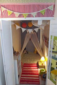 Coralie's Cozy DIY'd Nook My Room | Apartment Therapy