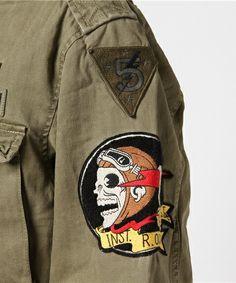 POLO RALPH LAUREN(ポロラルフローレン)の「アイコニック M-65 フィールド ジャケット(ミリタリージャケット)」 詳細画像