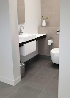 Badkamer on pinterest ikea showroom and dune - Wc met wastafel ...
