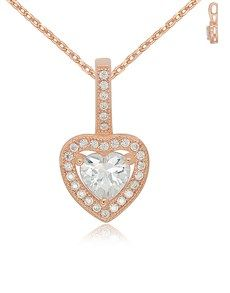 Order Cubic Zirconia Necklaces online from NetJewel. See our fantastic selection of Cubic Zirconia Necklaces on South Africa's largest sameday delivery jeweller. Necklace Online, Gold Necklace, Rose Gold, Jewels, Jewellery, Diamond, Heart, Silver, Stuff To Buy
